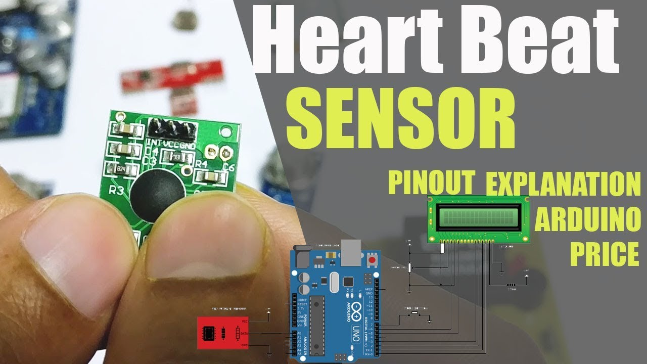 Heartbeat Sensor Module Working Pin Explanation Price & Projects