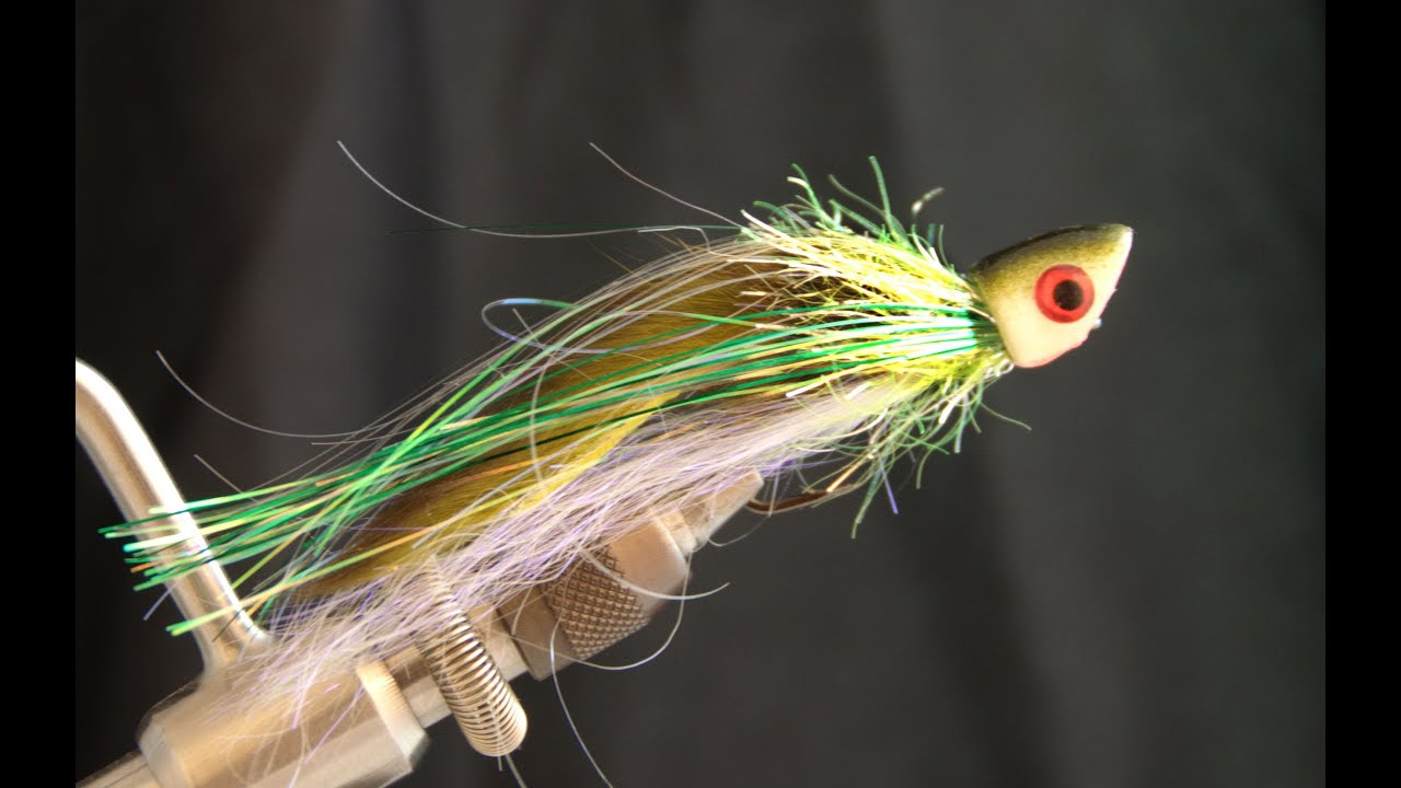 Zaggin zook fly tying lesson video tutorial by curtis for Fishing poppers for bass