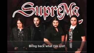 SupreMa - Burning my Soul (Traumatic Scenes) - Lyrics