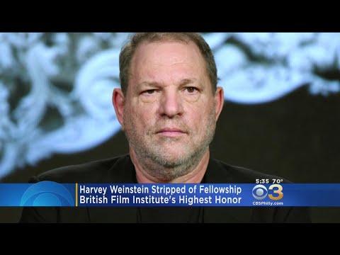 Harvey Weinstein Stripped Of Fellowship