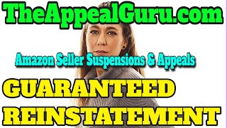 Amazon Seller Suspensions & Appeals - How to Appeal an Amazon Seller Suspension