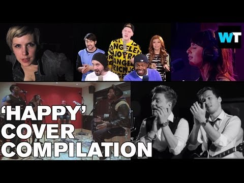 Pharrell's Happy - Best Covers Compilation   What's Trending Original