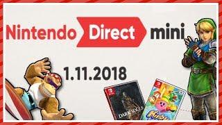 Reden wir über die Nintendo Direct Mini
