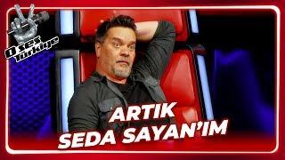Beyaz'dan Seda Sayan Taklidi | O Ses Türkiye 8. Bölüm