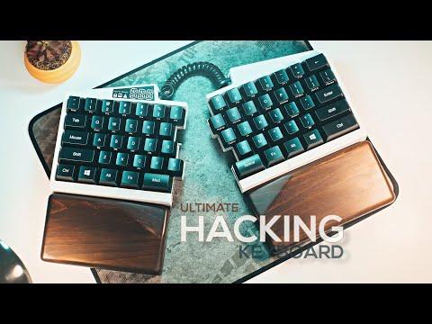 Ultimate Hacking Keyboard Review - Best Split Mechanical Keyboard!