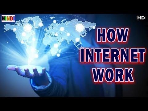 कैसा चलता है इंटरनेट दुनियाभर में | How Work Internet
