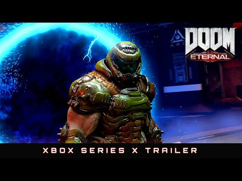 Обновление DOOM Eternal для Xbox Series X | S уже доступно