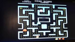 Playing the Arcade- Ms Pac-Man​​​ | Arcade Hacks | ​​​