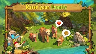 🐈Cougar Family Simulator : Animal RPG Game Simulator-By Area730 Simulator Games=Android