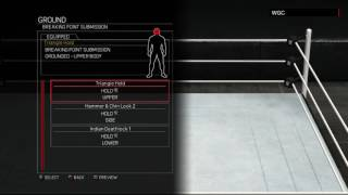 WWE 2K17:CM Punk moveset(Xbox 360/PS3)