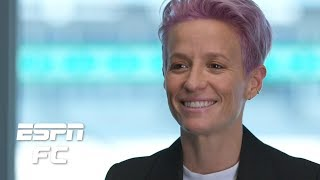 EXCLUSIVE: Megan Rapinoe isn't running for president, but she wants to inspire change | USWNT