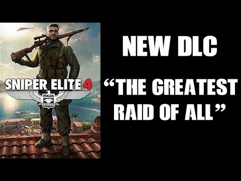 """New Sniper Elite DLC """"The Greatest Raid Of All"""" Operation Chariot: The Raid On St Nazaire*"""