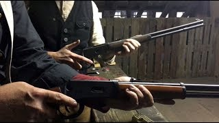Umarex Legends Cowboy Lever Action - in ACTION ! (mit Major Michaels und Samantha Smith)