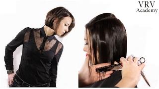 Стрижка Волос Комбинация Техник✂ Слои и Линии  ✂ Стрижка для разной длины волос