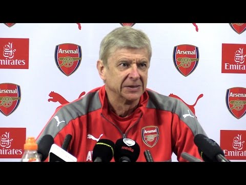 Arsene Wenger Full Pre-Match Press Conference - Arsenal v Manchester United