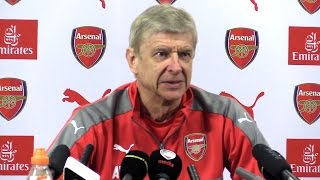Arsene Wenger Full Pre-Match Press Conference - Arsenal v Manchester United