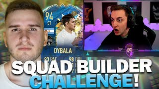 FIFA 20 | TOTS DYBALA Squad Builder Battle vs. Tabak | Pain