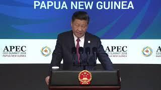 APEC summit: Xi Jinping warns at that a trade war will have no winners thumbnail
