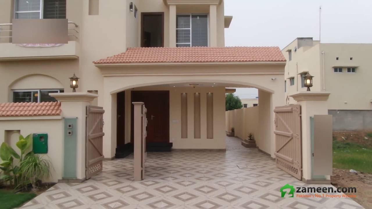 10 marla brand new house for sale in bahria town overseas b lahore youtube