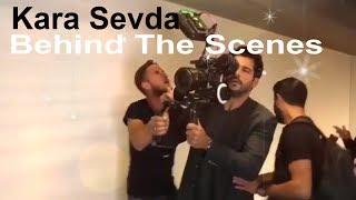 Kara Sevda Behind The Scenes Part 2 BurakNeslihan On Sets Fun