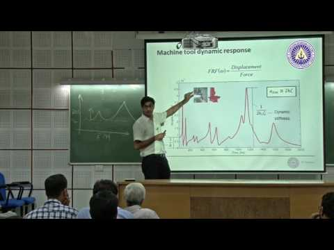Machine toolcutting tool design to mitigate vibration by Dr  Mohit Law, IIT kanpur