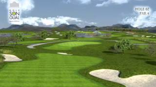 Hole 2 Golf Son Gual Mallorca