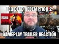 RED DEAD REDEMPTION 2 GAMEPLAY REACTION!