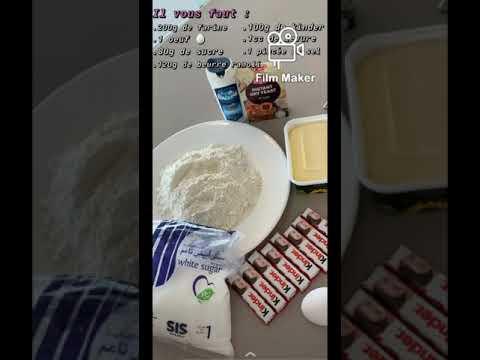 •♡recette-#1-cookies-aux-kinder♡•