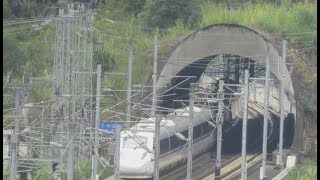 CRH3A+CRH3A, China High Speed train 中國高速列車 (D1834广州往成都, Guangzhou to Chengdu Train)
