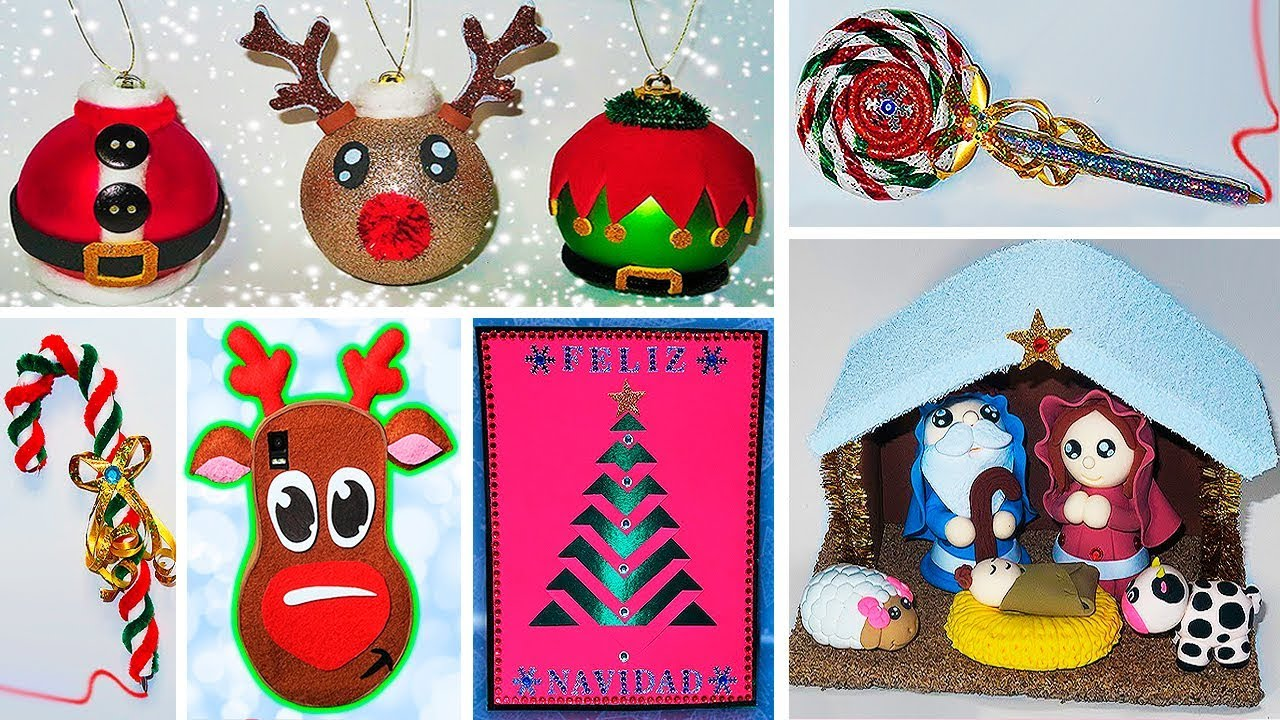 Ideas para navidad que debes probar manualidades for Ideas faciles decoracion