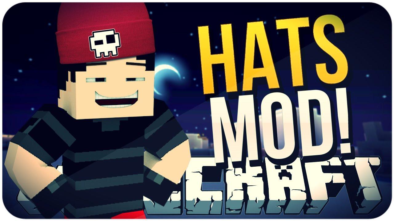 моды на майнкрафт 1.7.10 шапки #7