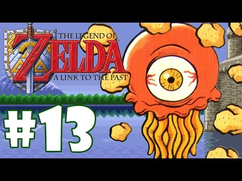 ZELDA LINK TO THE PAST #13 - OLHO AMOEBA