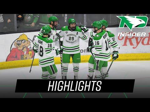 UND Hockey | Highlights Vs Alabama-Huntsville | 1/2/2022