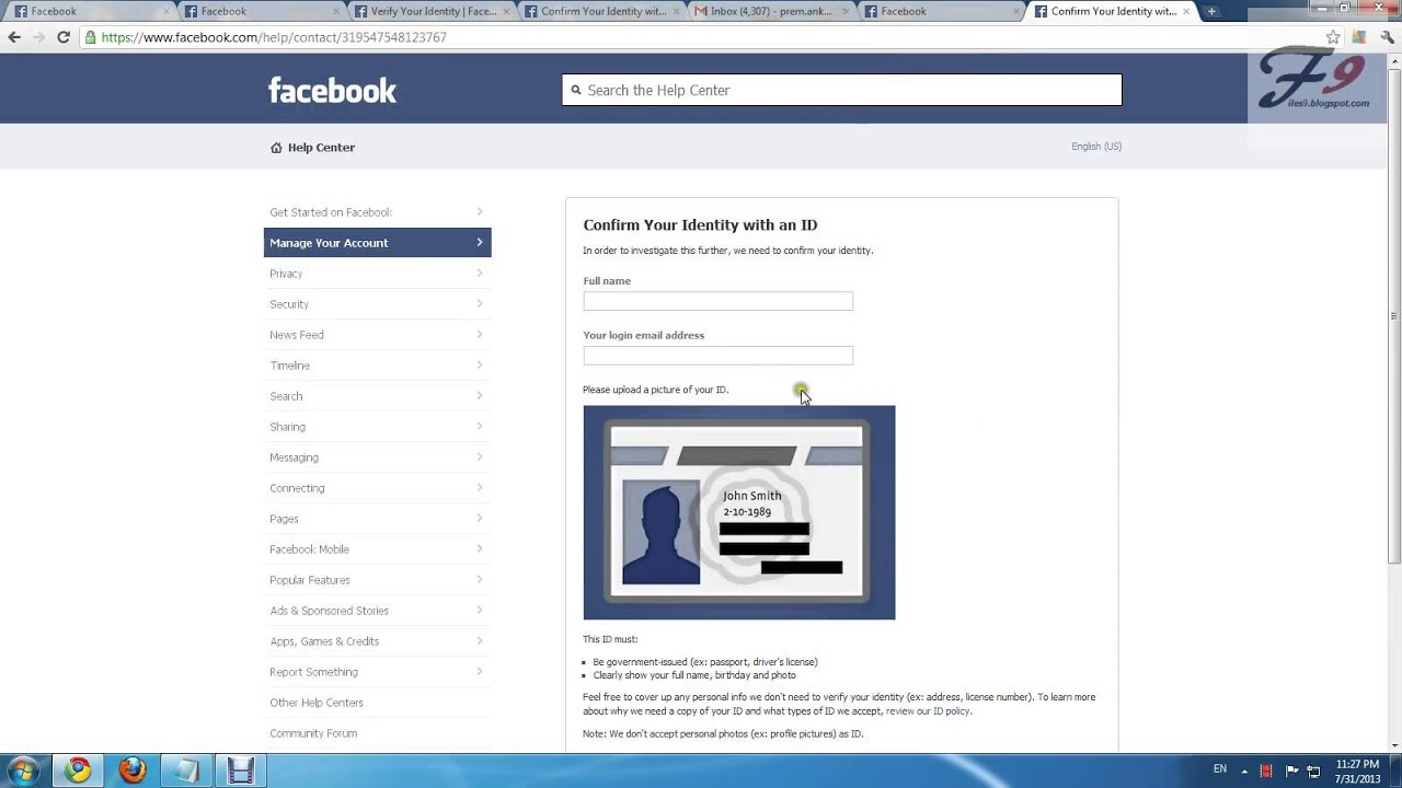 how to open facebook please complete a security check