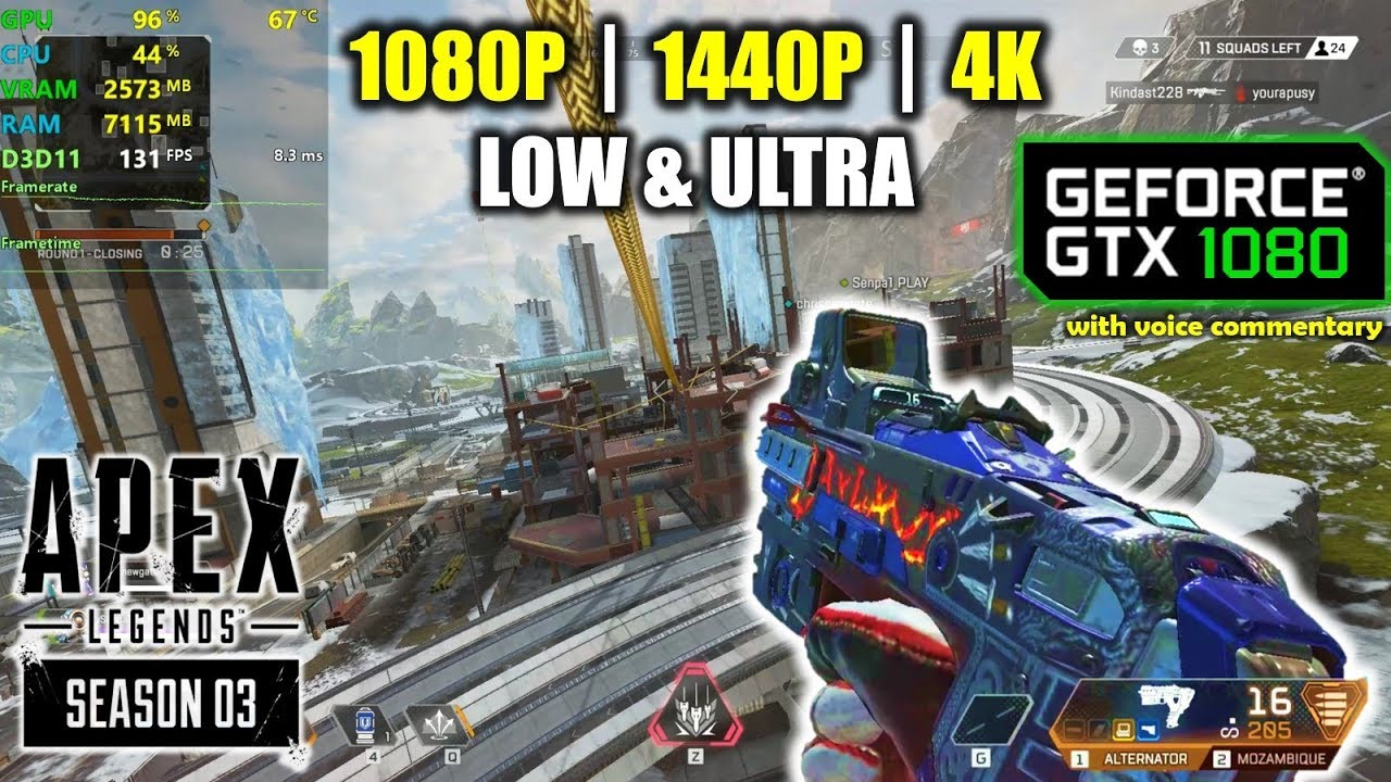 Download GTX 1080 | Apex Legends  - Season 3 - 1080p, 1440p, 4K