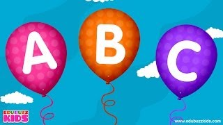ABC Songs for Children | ABC Balloon Song