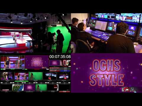 Behind the Scenes of High School TV News: The Broadcast