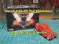 Revell 1/24 ZZ Top Eliminator Model Kit Review Build 85-4465