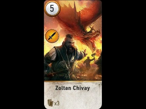Patch 1 07 Witcher 3 Location Of Zoltan Chivay Card If You