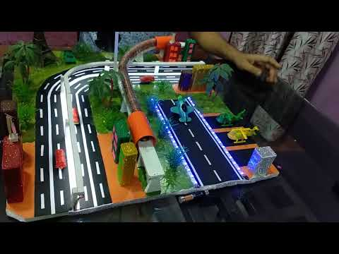 Working Model Of Transportation And Communication