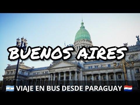 Así son los HOSTELES EN ARGENTINA | Viaje a BUENOS AIRES en BUS desde Paraguay 🇵🇾
