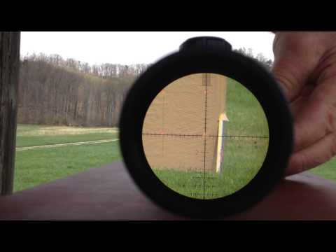 BUSHNELL ELITE TACTICAL XRS 4.5-30X Tracking Test