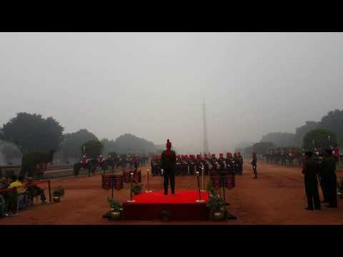 Changing of guard at Rashtrapati Bhavan 1