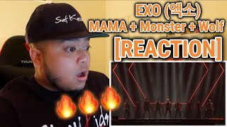Download lagu EXO (엑소) MAMA + Monster + Wolf LIVE IN JAPAN [REACTION]