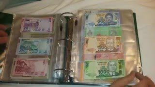 My Full Paper Money World Currency Collection As Of March 2016 Part 2