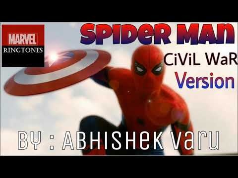 Spider Man Ringtone Civil War Ringtone