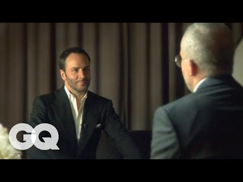 GQ's Jim Moore Talks Style with Tom Ford - GQ Celebrities