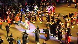 Edinburgh Military Tattoo, Massed Pipes and Drums 2014