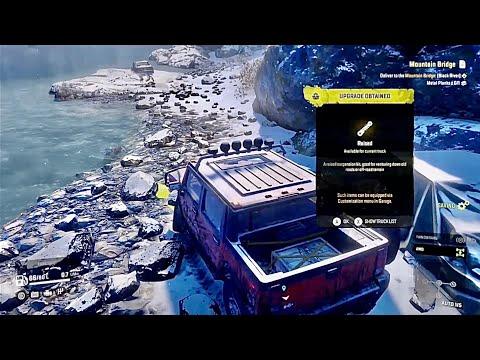 SnowRunner How To Find High Lift Kit Suspension Upgrade - Hummer H2 / Alaska Location Map