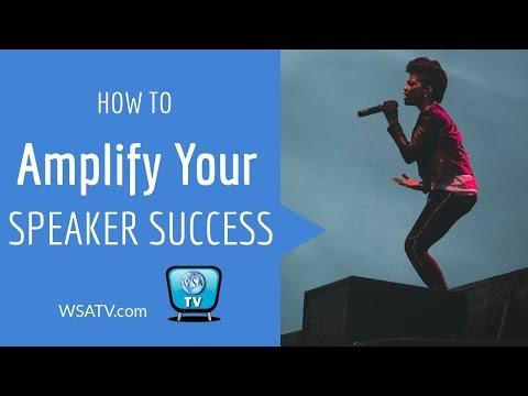 Amplify Your Speaker Success